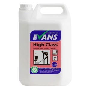 EVANS High Class Hard Surface Cleaner 5L
