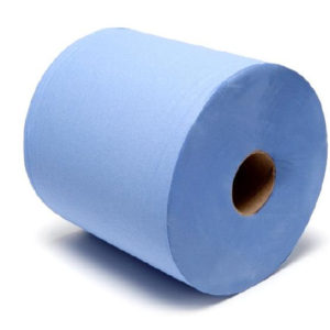 Centrefeed Blue Rolls 2ply