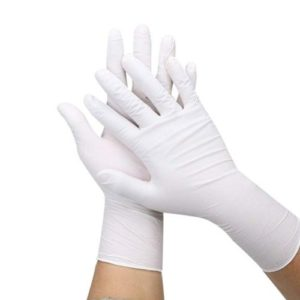 Nitrile White Gloves Powder Free