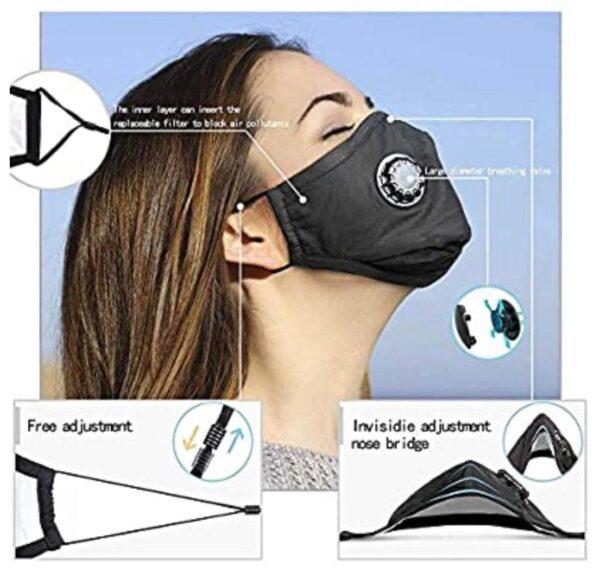 Reusable Face Mask Filter